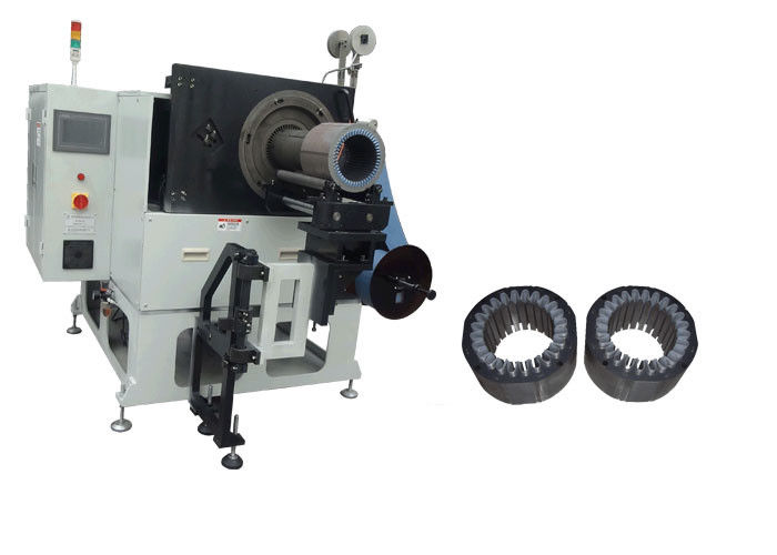 High speed Electric Motor Winding Equipment Slot Cell Insulation SMT - CW300