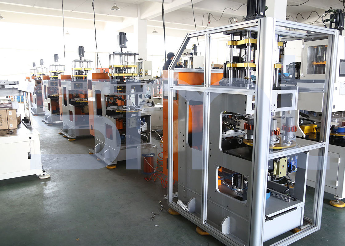 Single Head Double Station Automatic Vertical Coil Winding Machine for Three Phase Machine