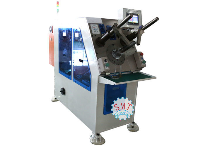 Copper / Aluminum Wire Coil Wedge Winding Inserting Machine 380V 50 / 60Hz